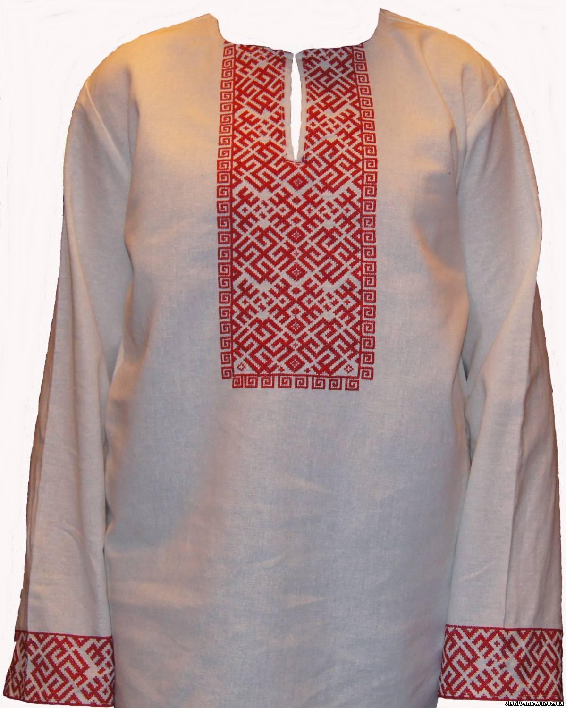 Вышивка для славянской рубахи 975